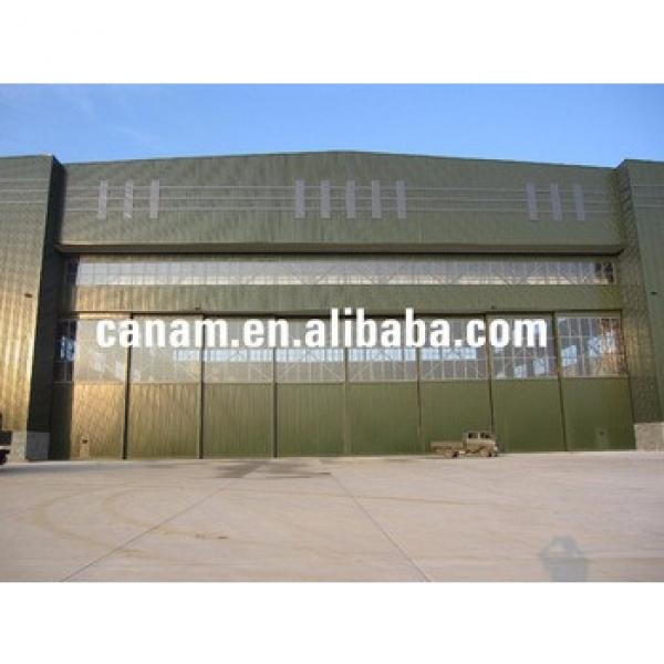 china supplier for light steel structure prefabricated aircraft hangar or steel aircraft hangar #1 image