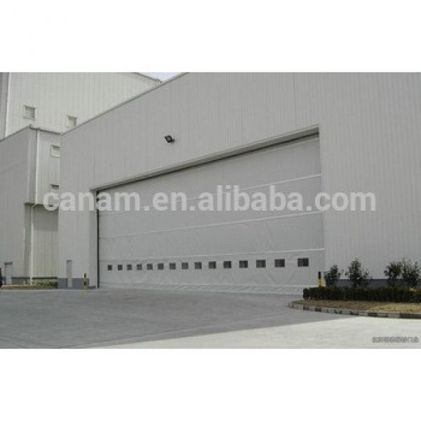 hangar side revolving industrial hangar sliding door #1 image