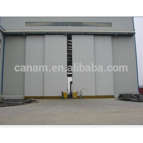 Light structure large size aircraft hangar door #1 image
