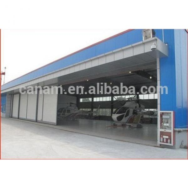 Movable electrical industrial accordion hangar doors #1 image