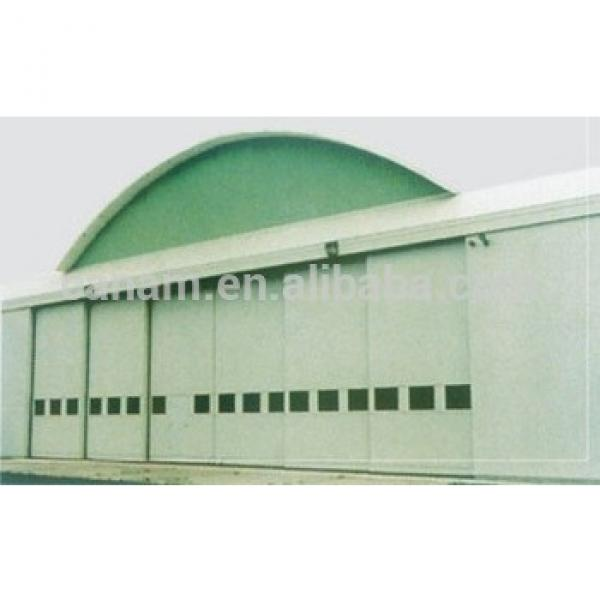 Automatic Sectional Factory Hangar Sliding Door With Remote Control #1 image
