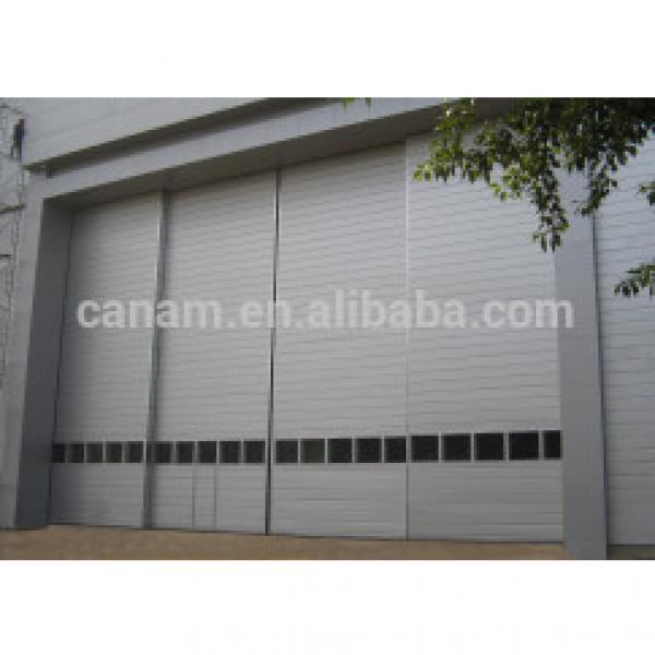 Aluminum alloy industrial electric sliding door #1 image