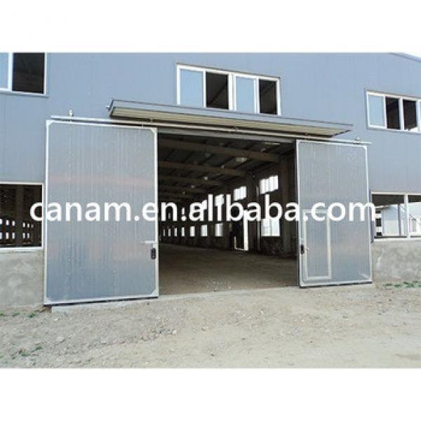 Automatic horizontal sliding garage doors #1 image
