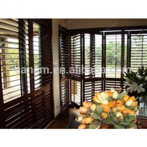 2017 new basswood shutter Hot sell basswood plantation shutter/louver from china #1 image