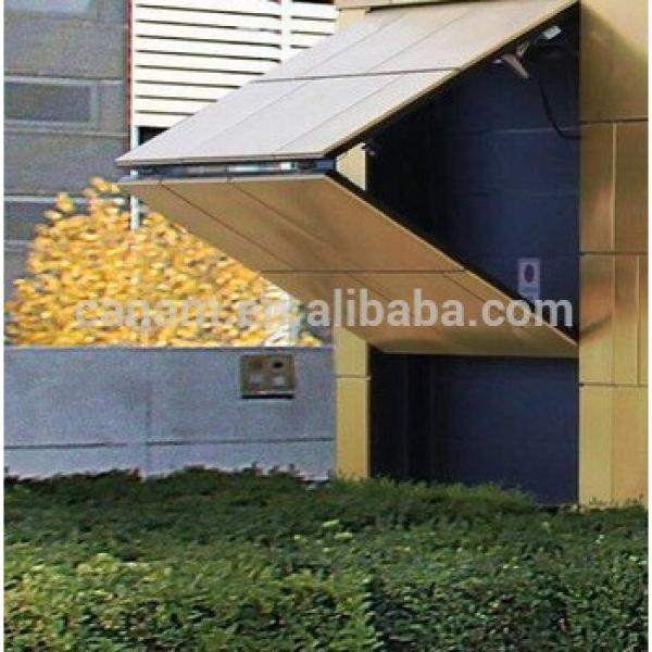 low price vertical steel bi-fold hangar door #1 image