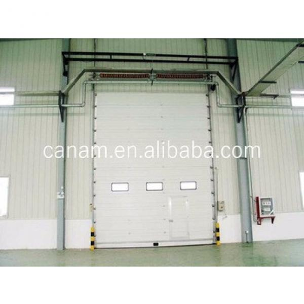 automatic vertical lifting factory sectional industrial door #1 image