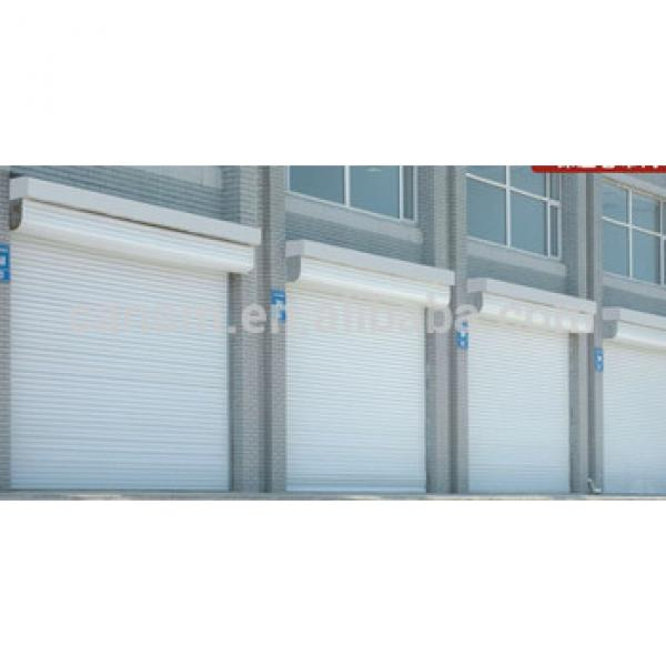 New material durable and nice aluminum alloy industrial rolling shutter door #1 image