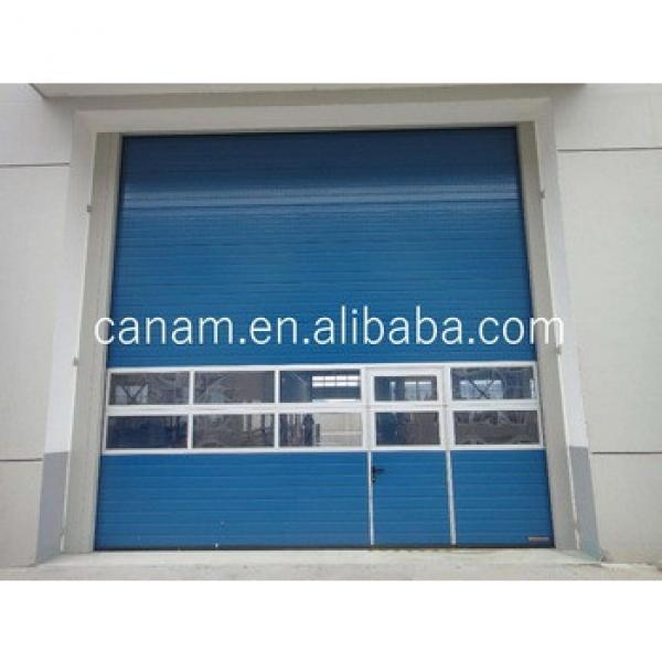 sectional industrial door/big factory industrial door/vertical lift sliding sectional doors #1 image