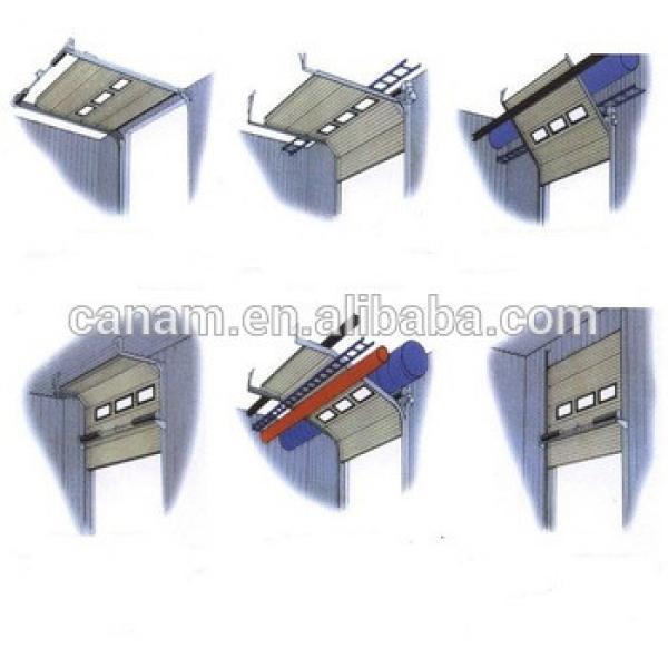 China professional manufacturer Aluminum industrial Security door #1 image