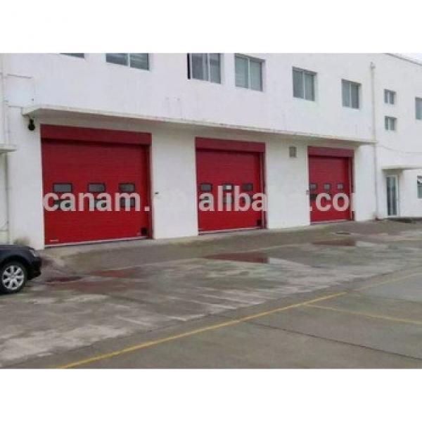 security industrial sectional door with walker door #1 image