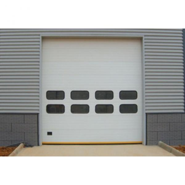 Factory automatic sectional overhead industrial sectional doors #1 image