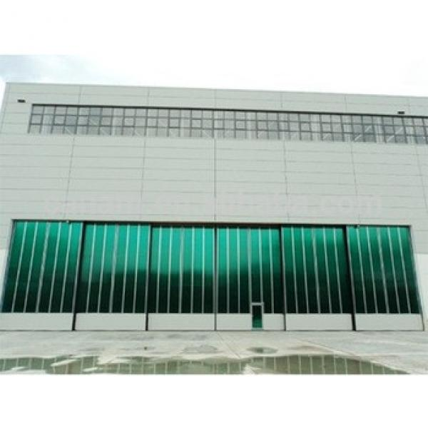 Most commonly used in the industry Glass Sliding Hangar Door #1 image