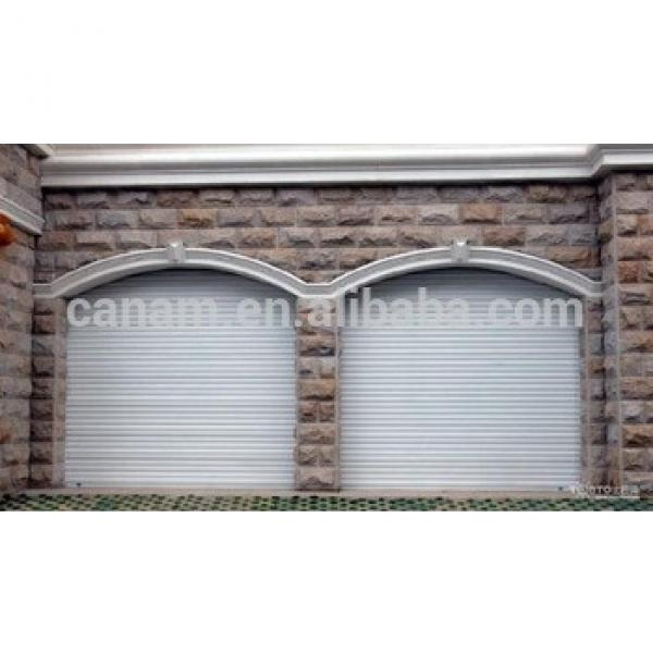 European Standard Insulated Summer & Winter Aluminum industrial rolling door automatic remote controlled #1 image