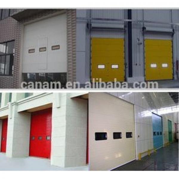 Automatic Security Sectional industrial door #1 image