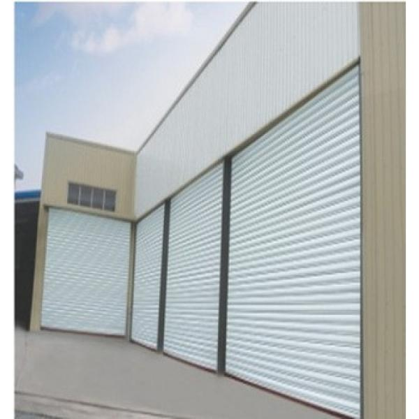 Vertical anti-wind rapid roller shutter door #1 image