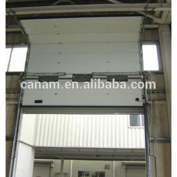 CE-Approved automatic overhead door #1 image
