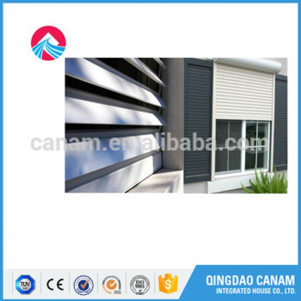 Automatic Aluminum Fire Rated Roller Shutter With Pu Foam #1 image