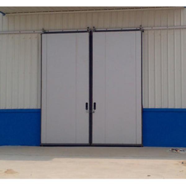 Auto Sliding Steel Industry Folding Door #1 image