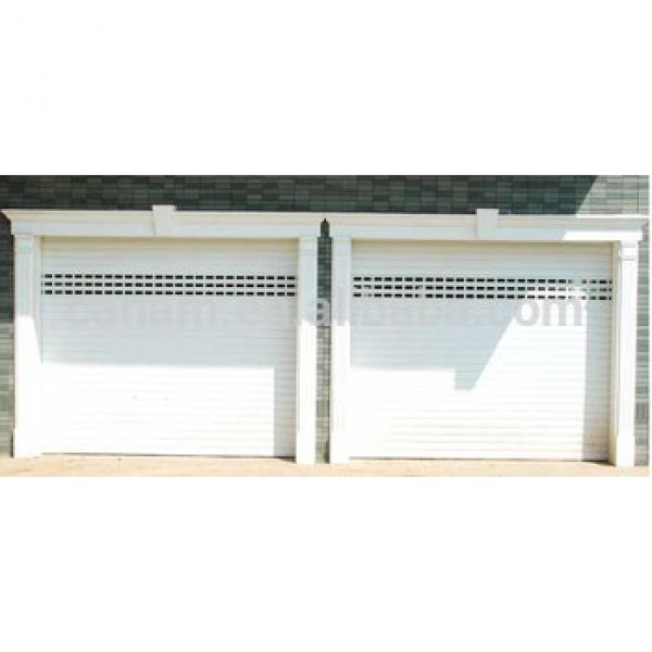 sectional garage door with polyurethane foam and CE #1 image