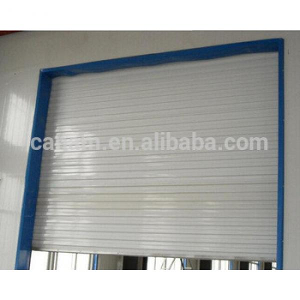 Made in China double glazed aluminium folding polycarbonate rolling door #1 image