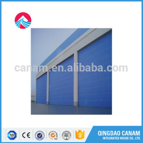 motorized Aluminum electric horizontal door/ transparent roller shutter #1 image