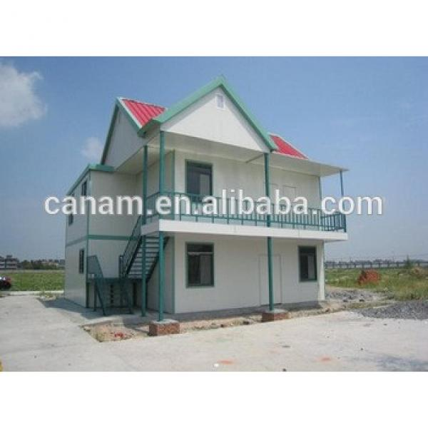 Prefab steel structure container villa with sandwich panel in Malaysia #1 image