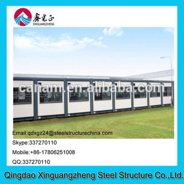 China manufacture designed low cost energy save container house for dormitory #1 image