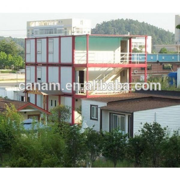 Multi-layers container living house hotel plans and designs #1 image