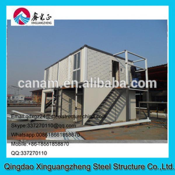 two tier steel structure container oil dormitory #1 image