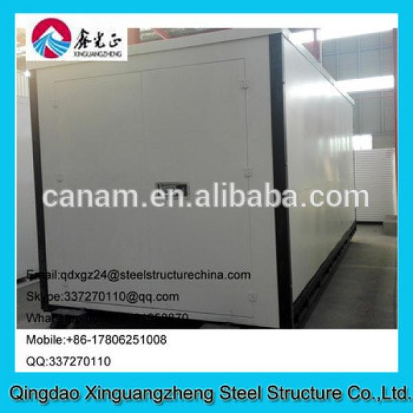 Cheap and esay assemble foldable container warehouse for sale #1 image