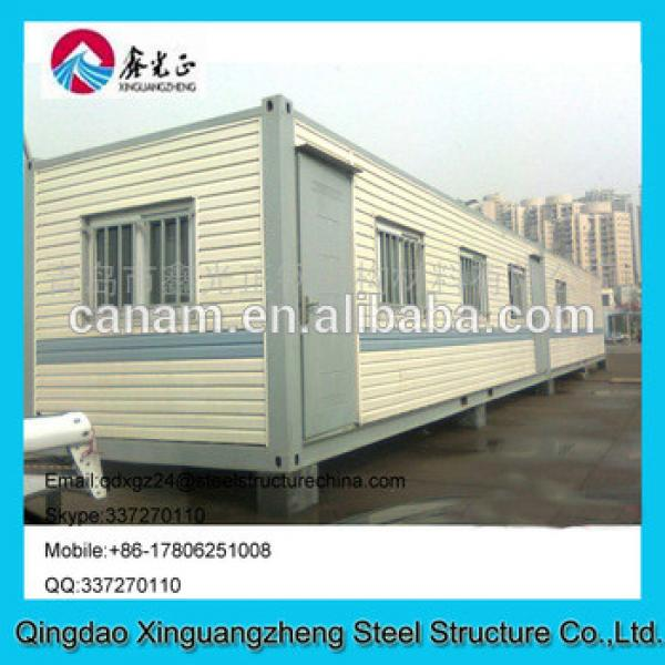 Sandwich panel frame Eps wall and roof low price container living house for dormitory #1 image