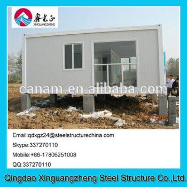 Fire proof anti-wind sandwich panel disaster area refugee camp tent #1 image