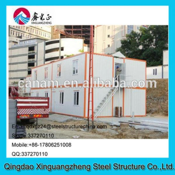 Economic and cheap prefab house container refugee camp price #1 image