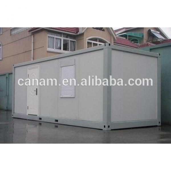 Sandwich panel frame flat pack living container house with one window #1 image