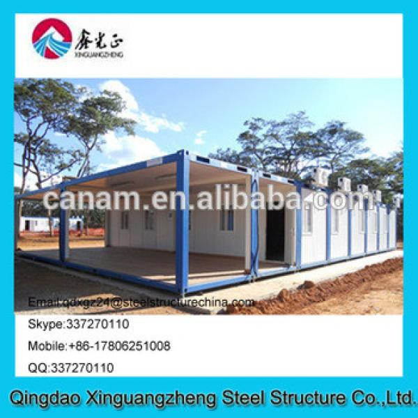 Winter disaster area container living house refugee camp house #1 image