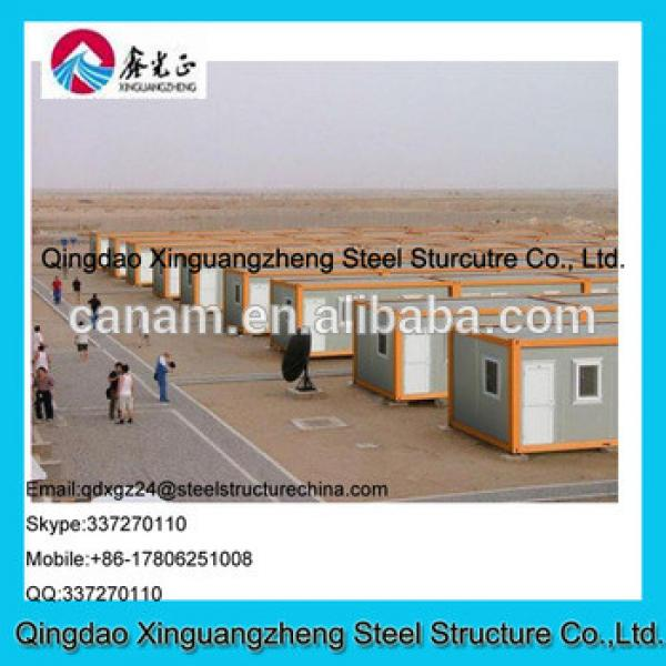 Prefabricated container house project for dormitary and refugee camp #1 image
