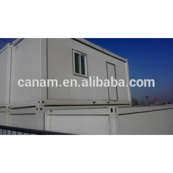 Plastic steel door and windows Prefabricated container living house #1 image