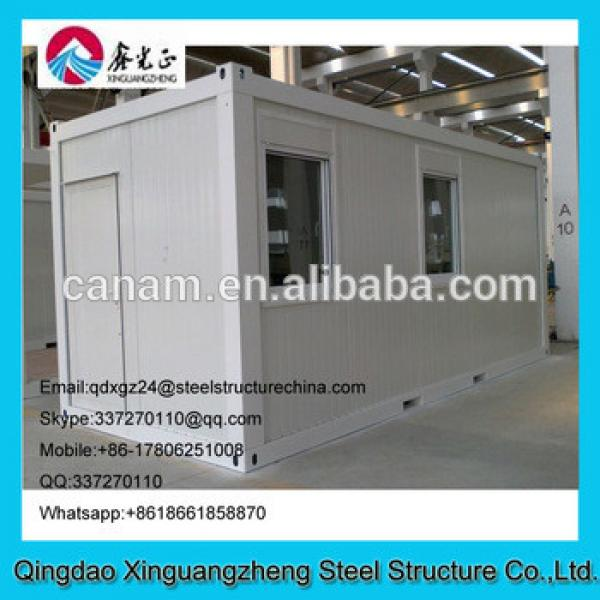 Flatpack container house with slide or single window #1 image