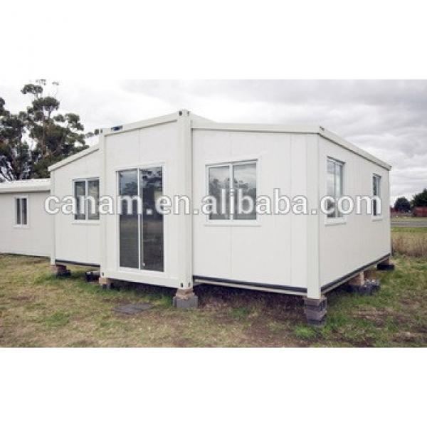 strong modular container house with 50mm pu sandwich panel for hotel #1 image