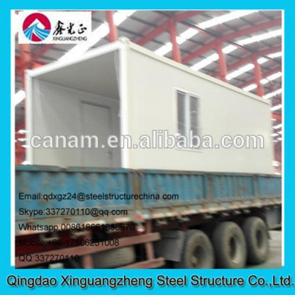 Prebuilt sandwich panel wall and roof cheap container office #1 image