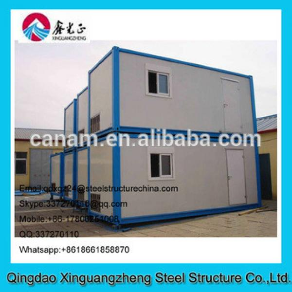 Two layers container house disaster or unrest area house #1 image