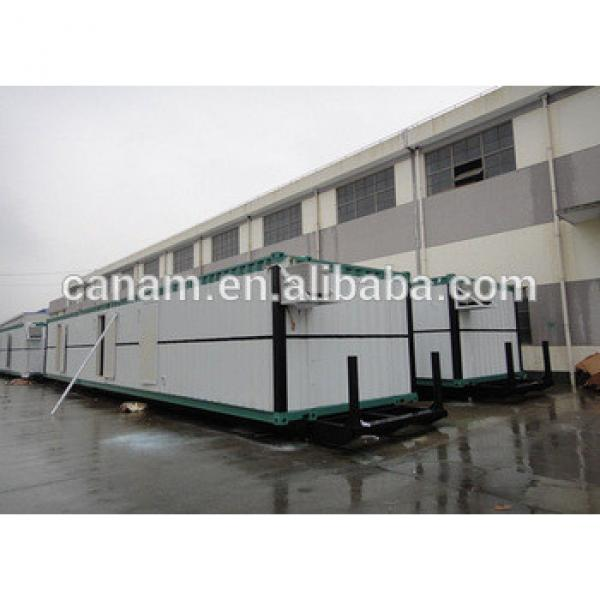 Flat pack combined prefabricated container house camp #1 image