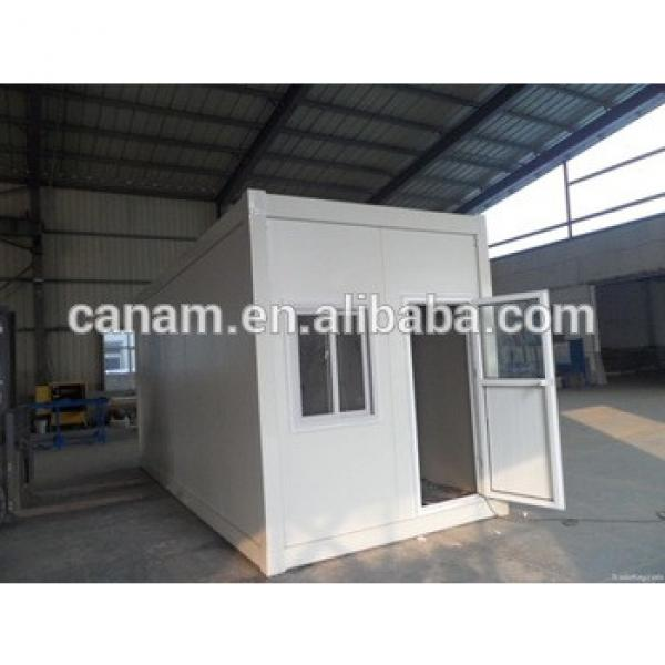 Prefabricated flatpack house container with single door and window #1 image