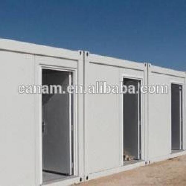 Steel structure flat pack container house for labor camp/dormitory #1 image