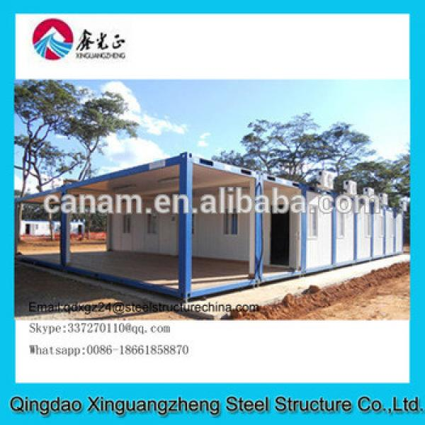 Durable prefabricated container house design #1 image