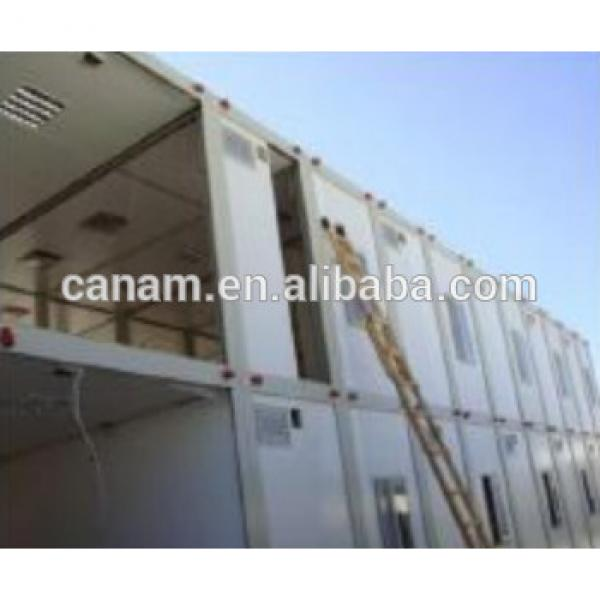 Steel structure house container gas dormitory camp #1 image