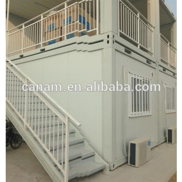 Double storey container house flat pack portable home container home #1 image