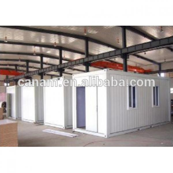 Refugee living house container house with toilet and kitchen #1 image