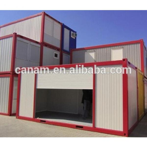 mobile prefabricated container house economic labor camp #1 image