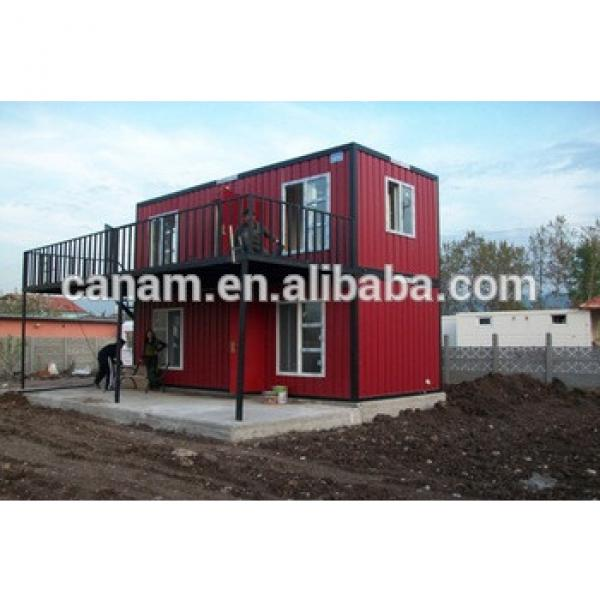 High quality prefabricated steel structure container house #1 image